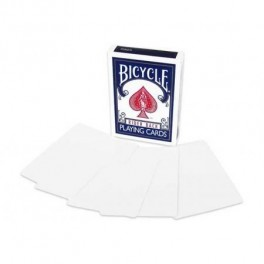 Cartes Bicycle Double Face Blanches