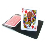 Magnetic Chop Bicycle Card Red
