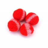 Set of 4 Crocheted Balls