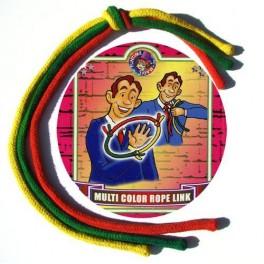 Cordes multicolores auto-attachantes