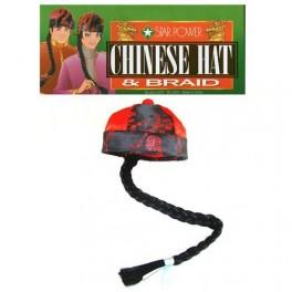 Bonnet Chinois avec Tresse