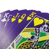 Purple Deck Cartas Bicycle