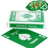 Green Deck cartas Bicycle