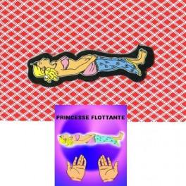 Princesse Flottante sur une carte