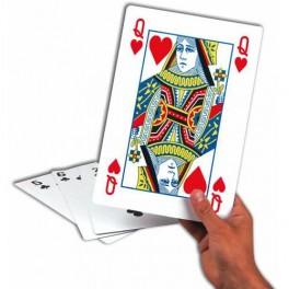 """Cartes à Jouer Géantes """"Format A4"""""""