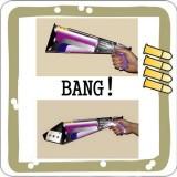 Bang Card Gun - Le Pistolet retrouve la carte