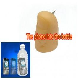 FP avec lame pour mobile dans bouteille