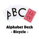 Cartes ALPHABET en Bicycle