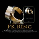 Gold PK Ring