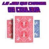 Le Jeu de cartes qui change de couleur