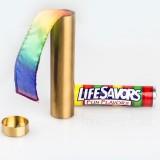 Tube de Bonbons pas Bons - version luxe en laiton