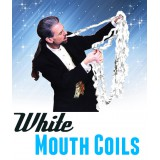 Mouth coil, boite de 12 serpentins blanc