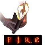 Livre en feu - Magic Hot book