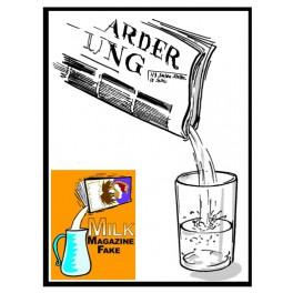 Liquide dans le journal