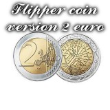 Flipper coin version 2 euro
