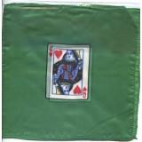 2 foulards motif Dame de cœur