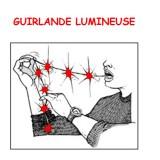Guirlande Lumineuse à la bouche ROUGE