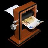 Grande Imprimante de billets de banque