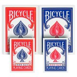 MINI Jeu de cartes Bicycle Rider Back