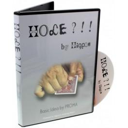 """Le Trou """"Hole by Higpon"""" Gimmick et DVD"""
