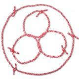 3 Cordes puis 3 anneaux puis une longue corde