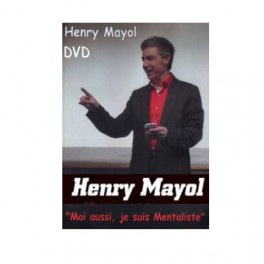 "DVD Henry Mayol ""Moi aussi, je suis Mentaliste"""