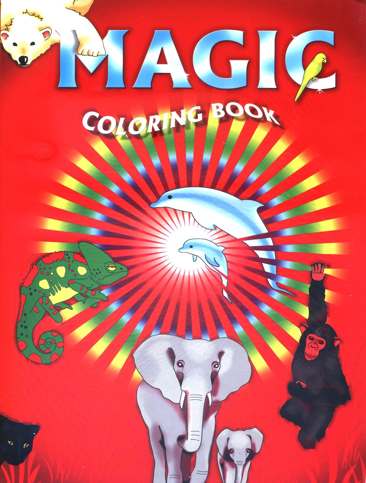 Livre De Coloriage Magique