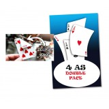 4 As double-face en cartes Bicycle