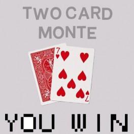Two Card Monte - Bonneteau a 2 cartes en Bicycle