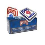 Cartouche, 12 jeux de Cartes Bicycle, 6 Bleu et 6 Rouge