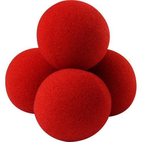 4 Balles mousse