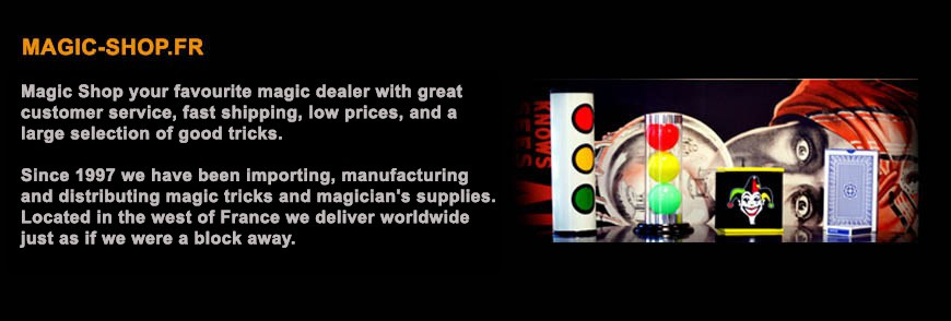 Magic Shop is specialized in Magic Products and magicians accessories.